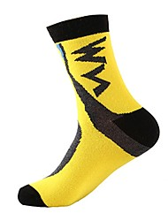 cheap -Sport Socks / Athletic Socks Bike / Cycling Socks Unisex Breathability 1 Pair Spring, Fall, Winter, Summer Yarn Dyed Cotton