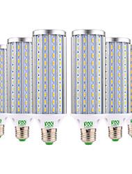 economico -YWXLIGHT® 6pcs 45W 4400-4500 lm E26/E27 LED a pannocchia 140 leds SMD 5730 Bianco caldo Luce fredda Bianco AC 85-265V
