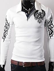 Недорогие -Муж. Классический Polo Рубашечный воротник Уличный стиль Геометрический принт
