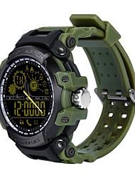 baratos -Relógio inteligente DX16 for Android 4.4 / iOS Smart / Pedômetros Podômetro / Monitor de Sono / Lembrete sedentária / 300-350