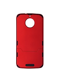 cheap -Case For Motorola MOTO E4 MOTO E4 Plus Shockproof Back Cover Solid Color Hard Plastic for Moto G5s Moto E4 Plus Moto E4