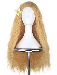 cheap -Cosplay Wigs Moana Other Anime Cosplay Wigs 80 CM Heat Resistant Fiber All