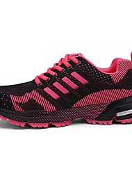 Недорогие -Жен. Обувь Резина Весна Удобная обувь Спортивная обувь На плоской подошве Круглый носок Лиловый / Пурпурный / Синий