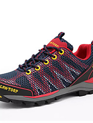 cheap -Women's Shoes PU(Polyurethane) Summer Comfort Athletic Shoes Hiking Shoes Flat Heel Round Toe Purple / Red