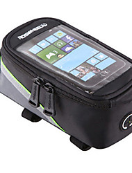 cheap -ROSWHEEL Bike Frame Bag Cell Phone Bag 4.2/5.5/6.2 inch Waterproof Wearable Phone/Iphone Touch Screen Reflective Strips Skidproof Cycling