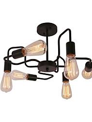 abordables -CXYlight 6-luz Lámparas Araña / Montage de Flujo Luz Ambiente 110-120V / 220-240V Bombilla no incluida / 10-15㎡