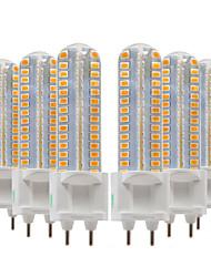 Недорогие -ywxlight® 6шт 8w 700-800lm g12 светодиодные би-штыревые огни 128led smd 2835smd 360-градусная осветительная арматура кукурузная лампа переменного тока 220-240v