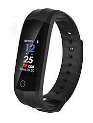 cheap -Smartwatch CD02 for Android 4.4 / iOS Calories Burned / Bluetooth / Touch Sensor / Pedometers / APP Control Pulse Tracker / Pedometer / Call Reminder / Activity Tracker / Sleep Tracker / Alarm Clock
