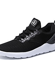 cheap -Men's Shoes Synthetic Microfiber PU Breathable Mesh PU Leatherette Suede Spring Light Soles Comfort Athletic Shoes Walking Shoes Cycling