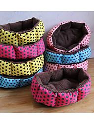 abordables -Gatos Perro Camas Mascotas Colchonetas y Cojines Lunares y Cuadros Portátil Plegable Transpirable Color Aleatorio Para mascotas