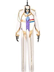 abordables -Inspirado por Macross Frontier Cosplay Animé Disfraces de cosplay Trajes Cosplay Otros Manga Larga Chaqueta Chalecos Camisas Pantalones