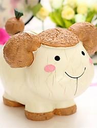 cheap -Piggy Bank / Money Bank Dog Sheep Cow Animal Lovely Resin Kid's Gift