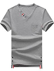 abordables -Tee-shirt Homme,Fleur Géométrique Chinoiserie