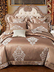 cheap -Duvet Cover Sets Luxury Poly / Cotton / 100% Cotton Printed 4 Piece
