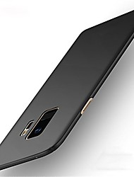Недорогие -Кейс для Назначение SSamsung Galaxy S9 / S9 Plus / S8 Plus Ультратонкий Кейс на заднюю панель Однотонный Твердый ПК