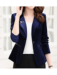 cheap -Women's Work Cotton Suits - Solid Colored Shirt Collar