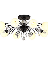 cheap -LightMyself™ 10-Light Chandelier / Pendant Light Ambient Light - Crystal, Matte, 110-120V / 220-240V Bulb Included / G9 / 20-30㎡