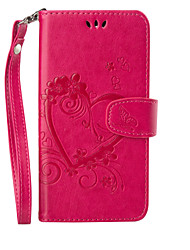 cheap -Case For Motorola MOTO G4 Plus Card Holder Wallet with Stand Flip Embossed Full Body Cases Butterfly Hard PU Leather for Moto G4 Plus