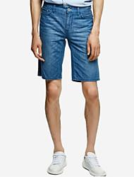 economico -pantaloncini da uomo micro-elastici normali di media altezza da uomo, semplice molla in fibra di bambù