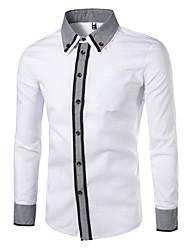 Majica Muškarci - Posao Color block Kolaž