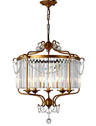 cheap -LightMyself™ 5-Light Chandelier / Pendant Light Ambient Light - Crystal, 110-120V / 220-240V Bulb Not Included / 15-20㎡ / E12 / E14