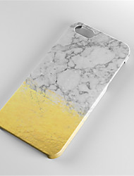 Недорогие -Кейс для Назначение Apple iPhone 6 Plus iPhone 7 Plus С узором Кейс на заднюю панель Мрамор Твердый ПК для iPhone 7 Plus iPhone 7 iPhone