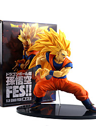 cheap -Anime Action Figures Inspired by Dragon Ball Son Goku PVC 19 CM Model Toys Doll Toy
