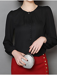cheap -Women's Blouse - Solid Colored Modern Style