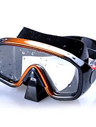 Недорогие -Очки для подводного плавания Маска для снорклинга Для профессионалов Противо-туманное покрытие Регулируется Высокое качество Плавание