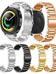 preiswerte -Uhrenarmband für Gear Sport Gear S2 Classic Samsung Galaxy Moderne Schnalle Edelstahl Handschlaufe