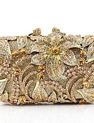 economico -Per donna Sacchetti vetro Borsa da sera Set di borse da 5 pezzi Fiocco (fiocchi) Oro / Nero