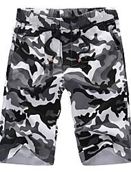 cheap -Men's Shorts Pants - Camouflage Print