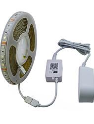 cheap -JIAWEN 5 M RGB Strip Lights 300 LEDs RGB Cuttable / Waterproof / Decorative 120-240 V 1set