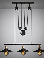 Недорогие -3-Light Для кухонного острова Люстры и лампы Потолочный светильник Окрашенные отделки Металл Мини, Регулируется 110-120Вольт / 220-240Вольт Лампочки не включены / FCC / E26 / E27
