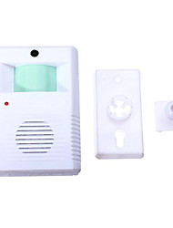cheap -905 Wireless One to One Doorbell Ding dong IR Infrared Surface Mounted Doorbell
