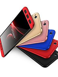 Недорогие -Кейс для Назначение Xiaomi Redmi 5A Защита от удара Чехол Однотонный Твердый ПК для Redmi 5A