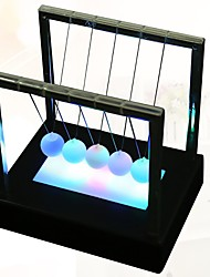 cheap -1pc LED Night Light Colorful AA Batteries Powered Newton's cradle Romantic Birthday LED Light Gift Boxes Decoration Light