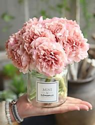 Недорогие -Искусственные Цветы 5 Филиал Свадьба / Свадебные цветы Пионы Букеты на стол