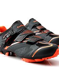 cheap -Tiebao® Mountain Bike Shoes Carbon Fiber Anti-Slip, Wearable, Breathability Cycling Black / Orange Men's