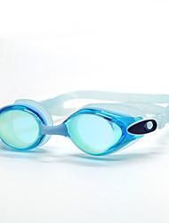 abordables -Lunettes de natation Lunettes de natation Antibrouillard Silikon Polycarbonate Incarnadin Gris Noir Bleu Bleu Foncé Incarnadin Gris Bleu