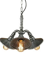 economico -3-Light Luci Pendenti Luce ambientale 110-120V / 220-240V Lampadine non incluse / 10-15㎡ / E26 / E27