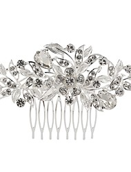 abordables -Strass Alliage Peignes with Strass 1pc Mariage Occasion spéciale Casque