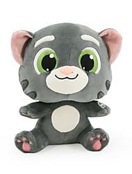 Недорогие -Кошка Животный принт Мягкие игрушки Разговор пение говорящий Обычные Универсальные Игрушки Подарок