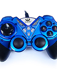 cheap -EJ-05 Wired Game Controllers For PC Vibration Game Controllers ABS 1pcs unit USB 2.0