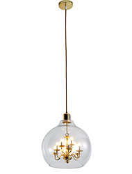 cheap -ZHISHU 9-Light Chandelier / Pendant Light Ambient Light - Adjustable, 110-120V / 220-240V, Warm White / White, Bulb Included / G4