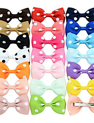 cheap -Clips Hair Accessories Grosgrain Wigs Accessories Women's 20pcs pcs 1-4inch cm Party Daily Stylish Cute