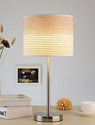 billiga -Modern Dekorativ Bordslampa Till Metall Vit