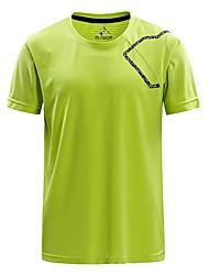 preiswerte -Herrn T-Shirt für Wanderer Außen Schnelles Trocknung Rasche Trocknung Schweißableitend Atmungsaktivität T-shirt N/A Camping & Wandern