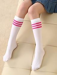 cheap -Girls' Socks & Stockings, Summer Faux Fur Polyester Blue White Black Red
