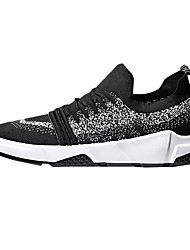 お買い得  -男性用 靴 ラバー 春 夏 コンフォートシューズ アスレチック・シューズ のために アウトドア ブラック グレー ブラック / レッド